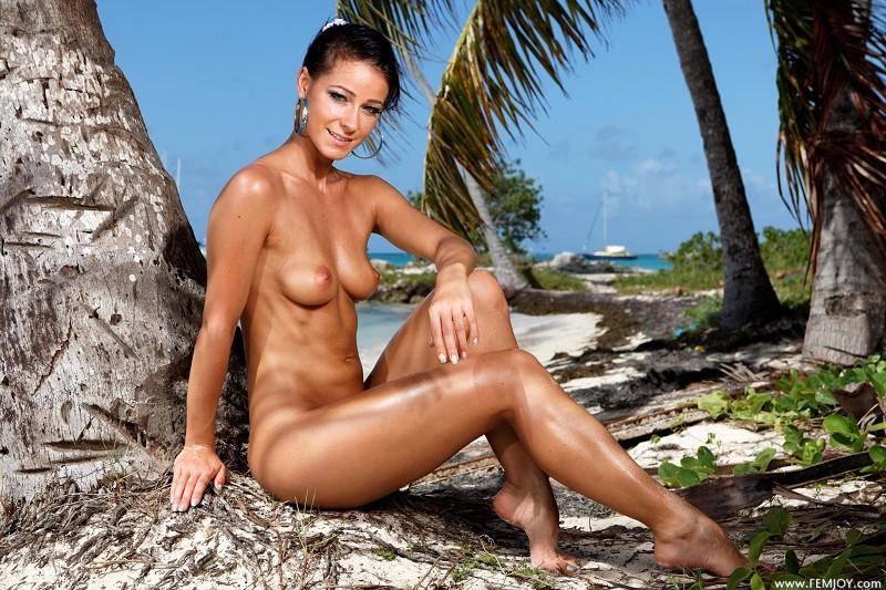 Melisa Tropical Island Beach Sundown Hottestleakedbabes 1