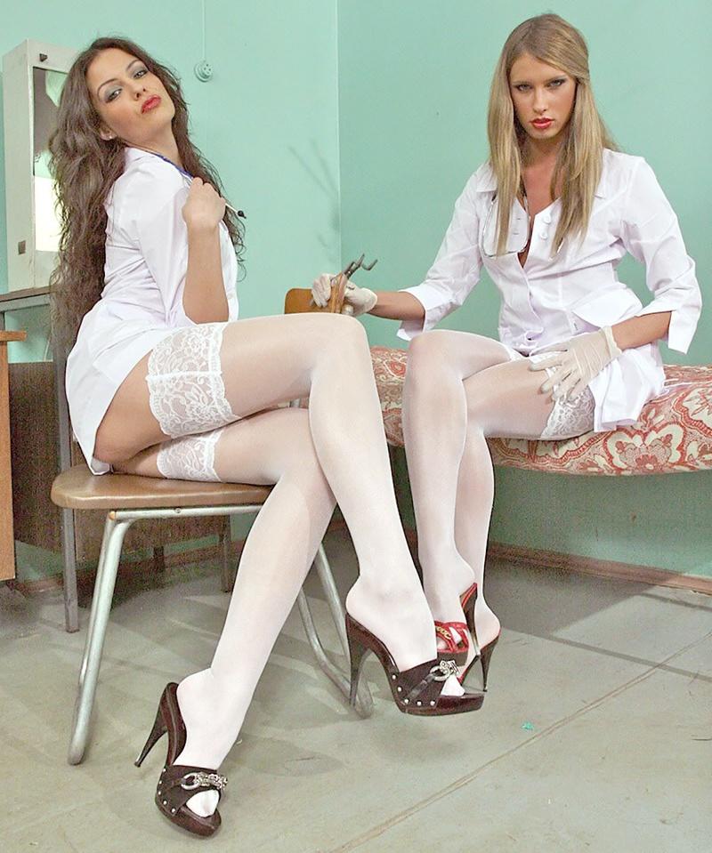 Русская медсестра и больной 8 фотография