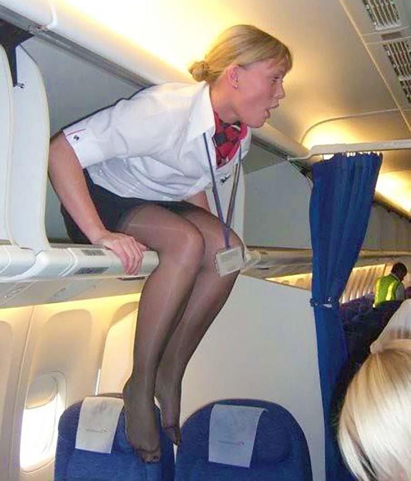 Трахает стюардесс расширяет