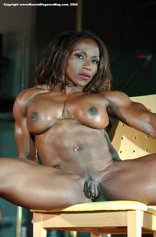Black lesbian using strap on
