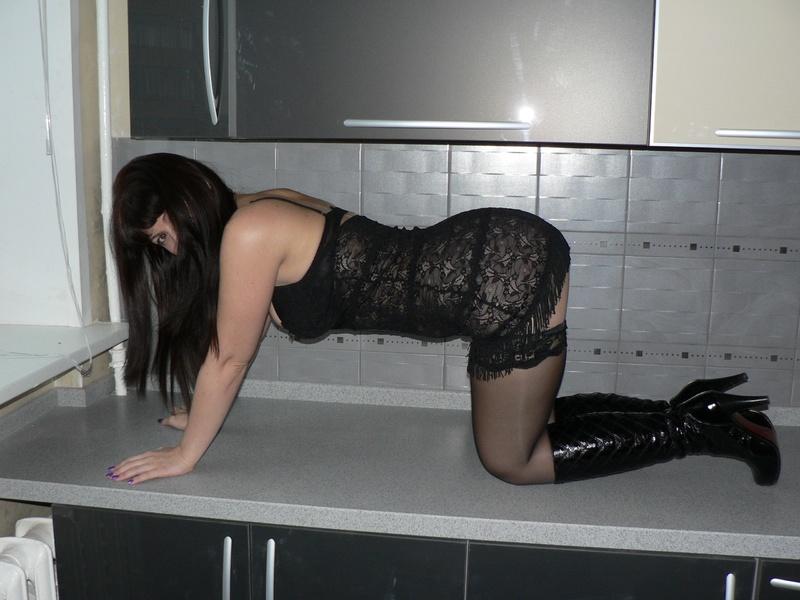 Фото жен частное в чулках