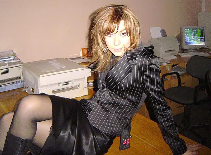 секретарша любительское без