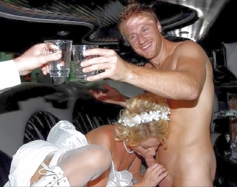 барышни невесту трахнули на свадьбе в машине вот