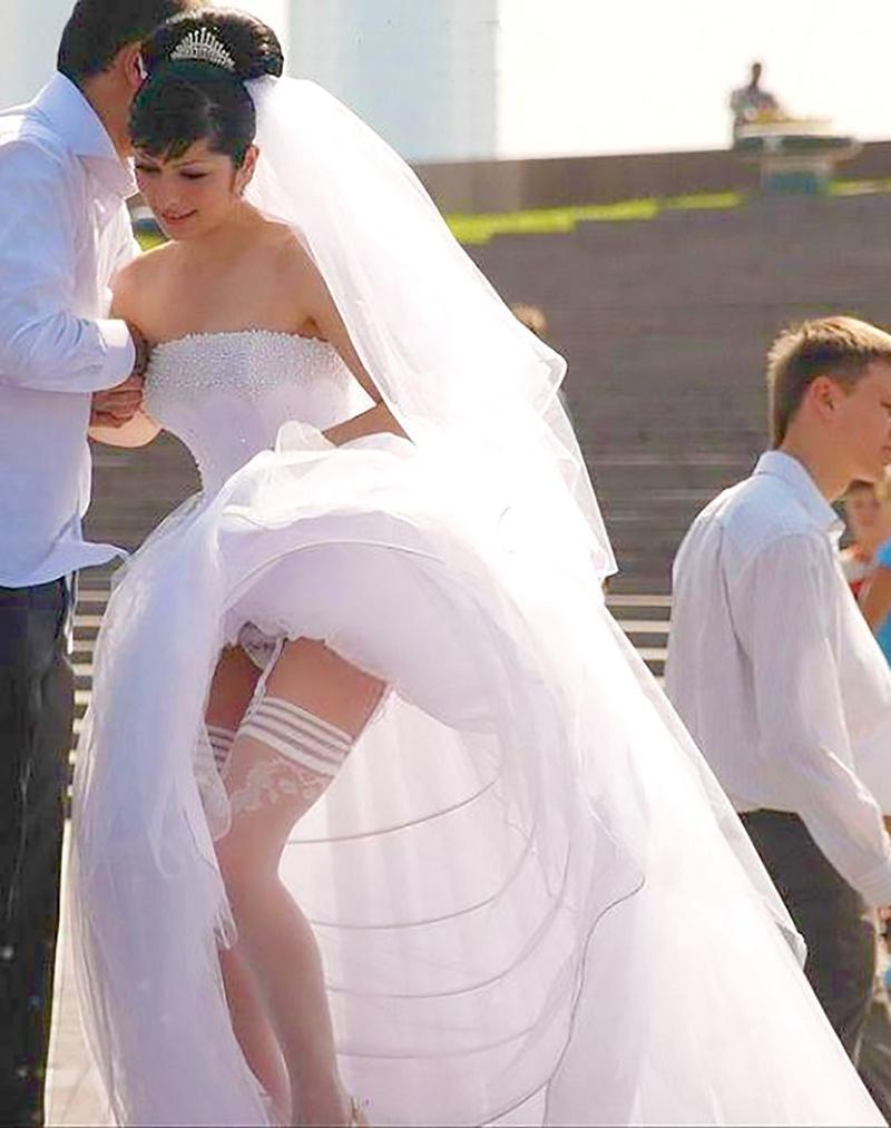 После свадьбы без трусов 18 фотография