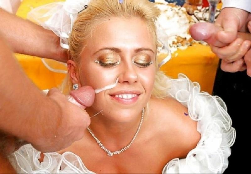 предлагает зрителю фото невесты на свадьбе порно грейнджер было