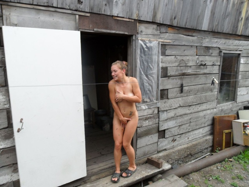Секс в сауне в деревне 27 фотография