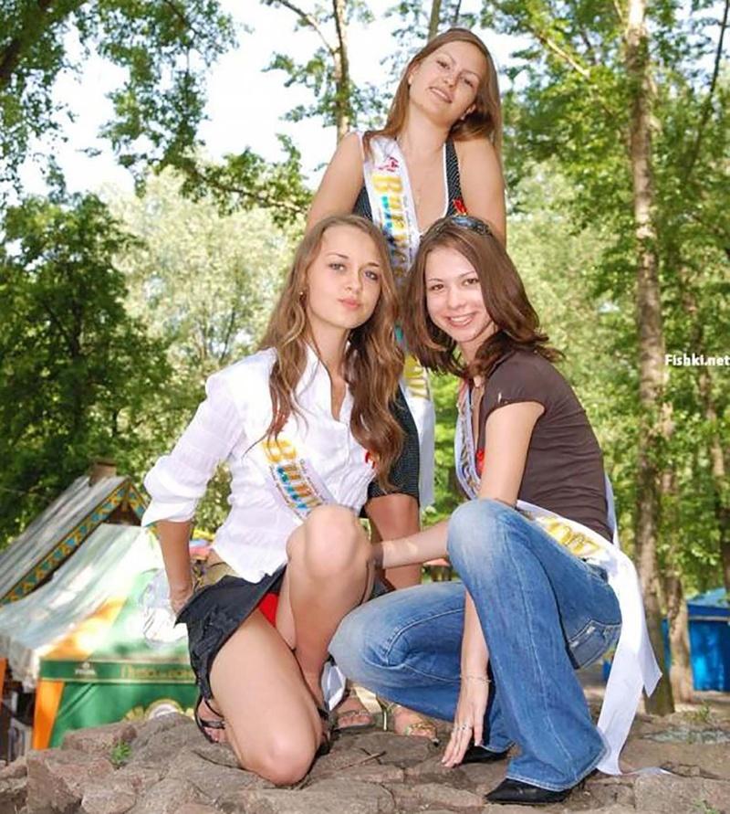 Развратные русские выпускницы 13 фотография