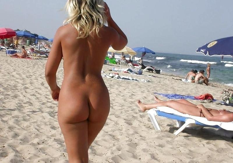 пляжах задниц фото крыма больших на женских