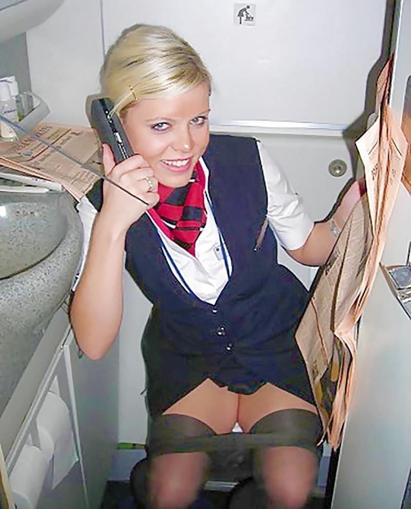 Стюардесса под юбкой фото 233-686