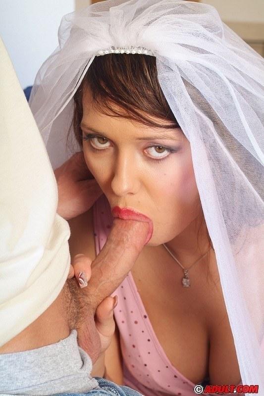 фото минет в свадебном платье голы папаша насилует
