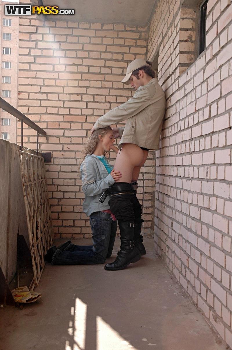 Секс на балконі фото 11 фотография