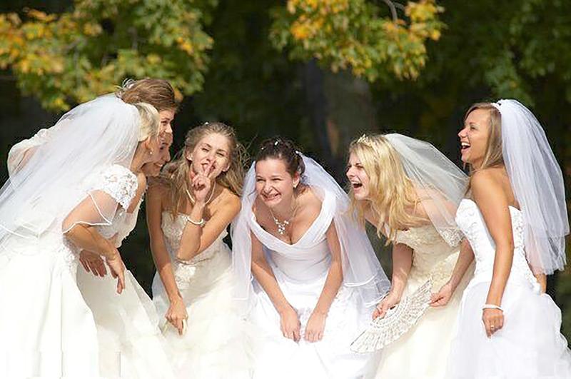 Русскую невесту на свадьбе 18 фотография