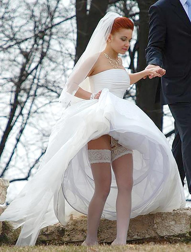 Фото невесты под юбкой 12 фотография