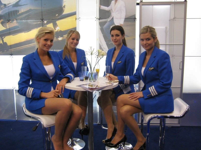 Air Stewardess Costume in the.
