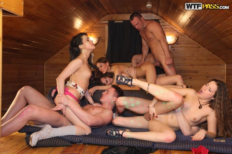 студенческая порно партия