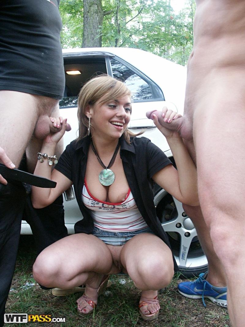 Порно Русский Трах На Улице