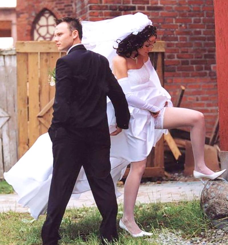 Эротические приколы невест 15 фотография