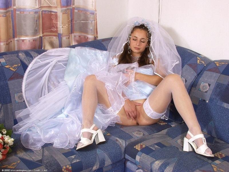 Порно Под Платьем Невесты