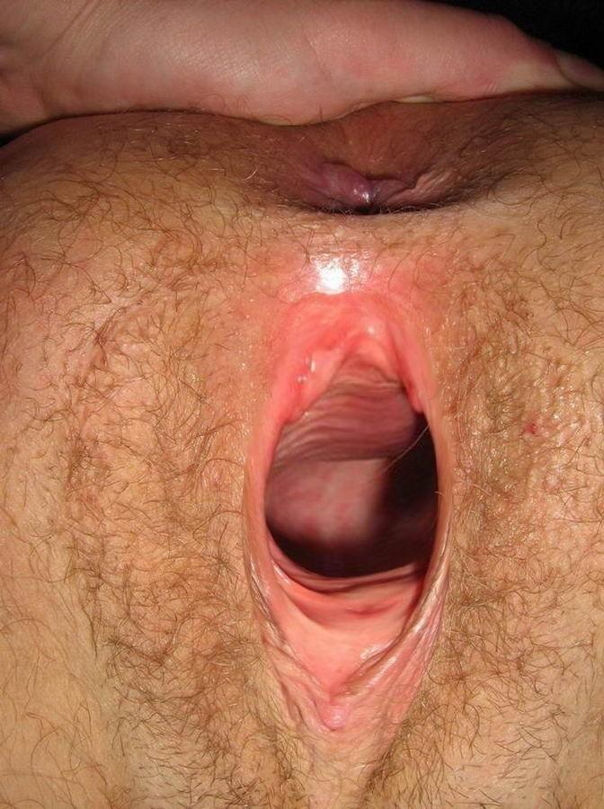 Сколько сантиметров вагина от дырочки жопы