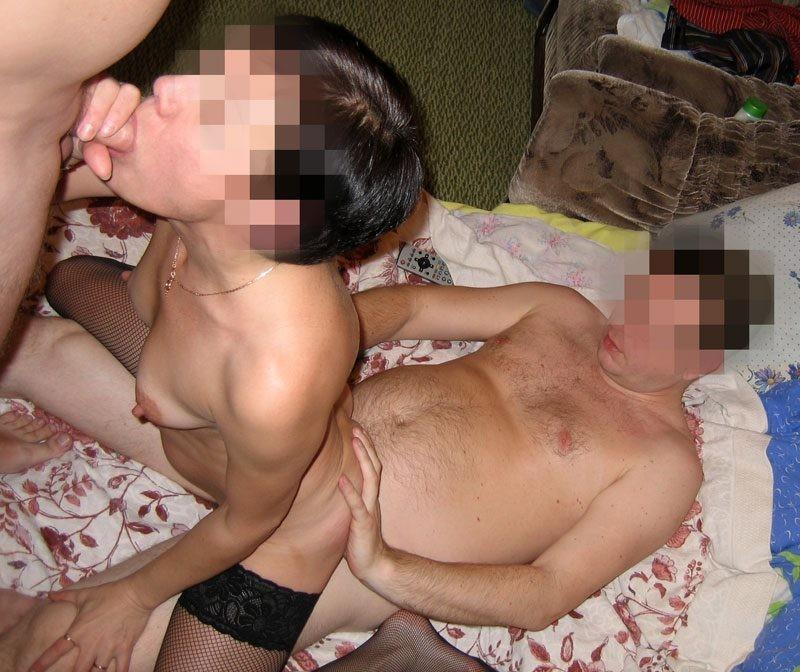 Фото домашнее порно бисексуалов 10