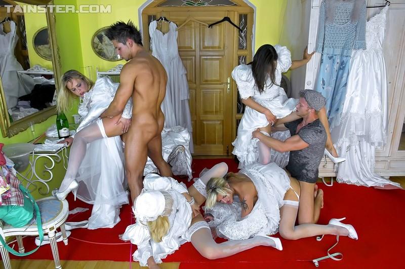 Свадебные платья для шлюшки 8 фотография