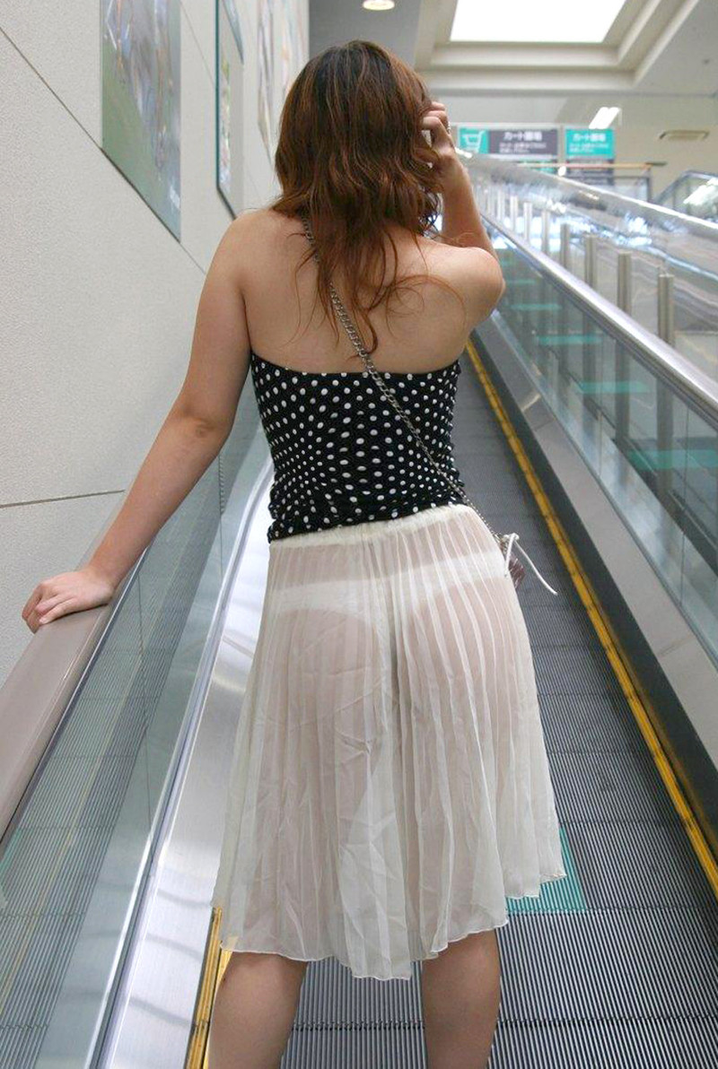 Фото в прозрачных юбках платьях 5 фотография