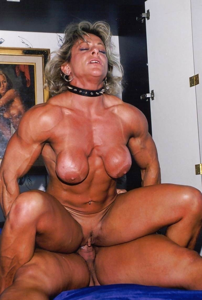 woman bodybuilder porn