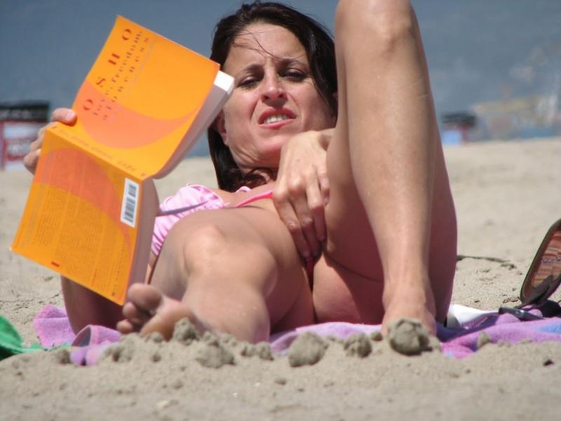 Вагина на пляже фото фото 419-275