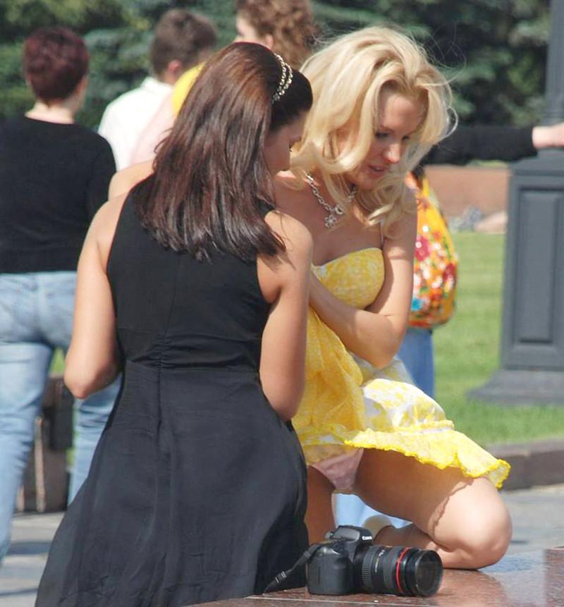 Под юбкой у русских женщин