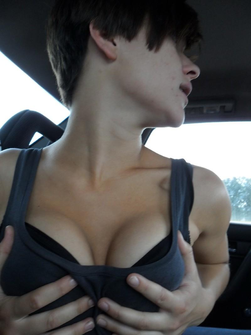Секс девушек с короткими стрижками 1 фотография
