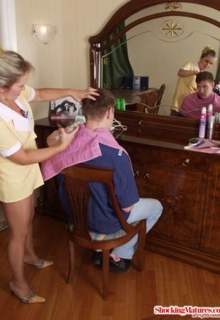 Парень выебал парикмахершу - смотреть онлайн порно фото на ...