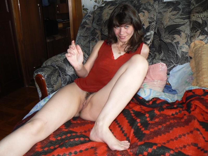 русская жена любит ходить без трусиков