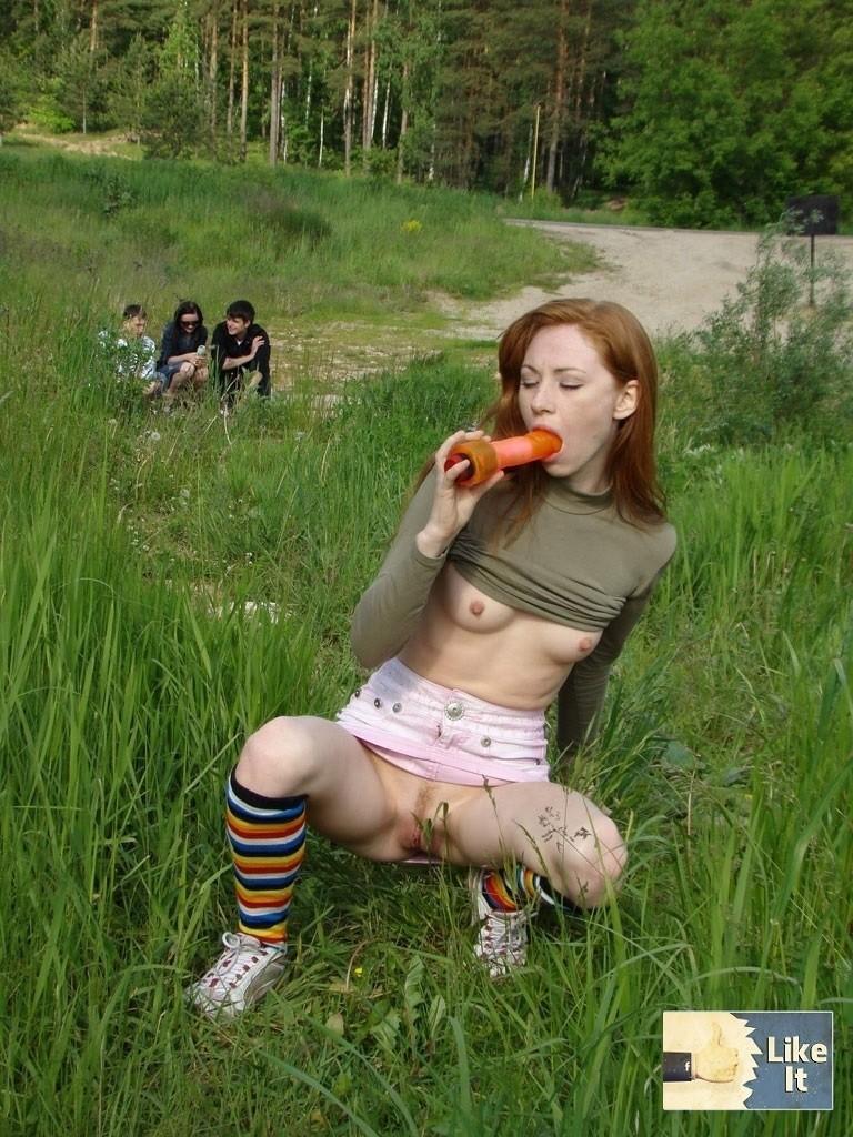 Смотреть порно онлайн молодая русская рыжая 31 фотография