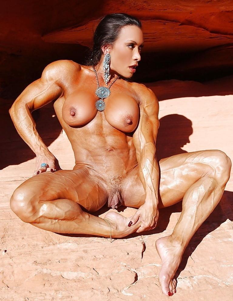 Порно мускулистые телки