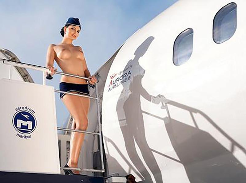Секс с стюардесса 19 фотография