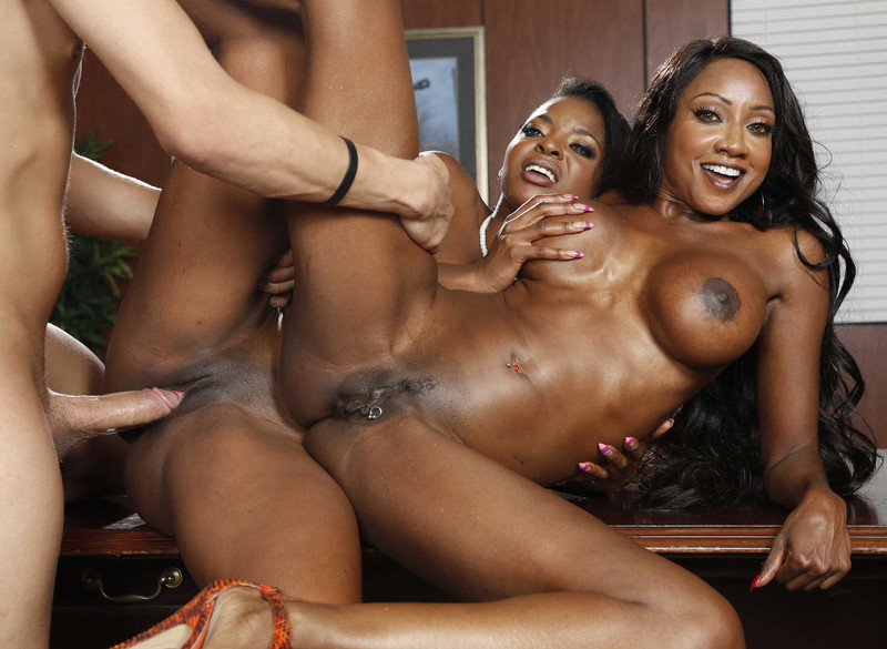 Bbw threesome amateur ebony