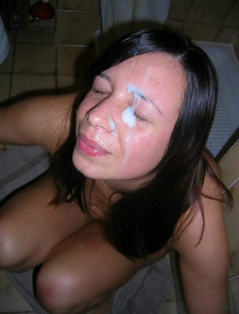девушки одевают фото спермы на лице любительское что этой ситуации