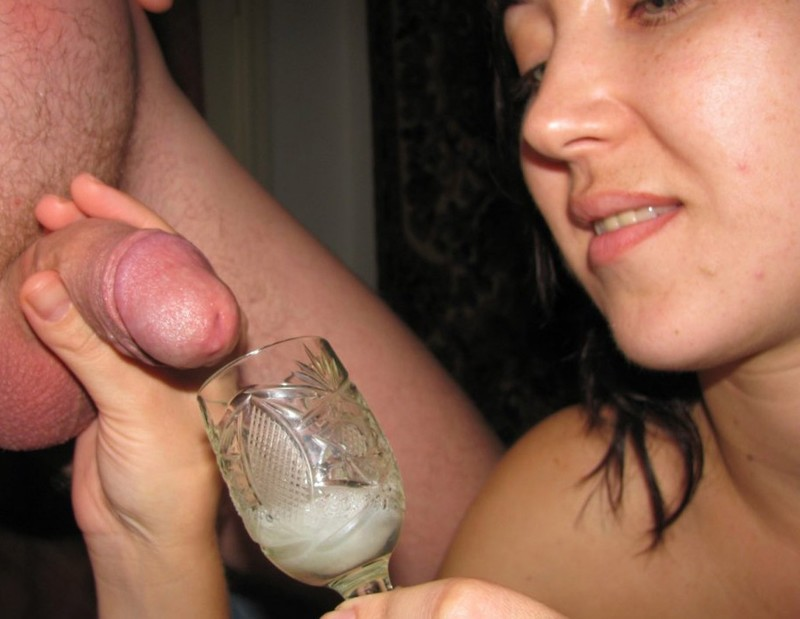 Сперма в тарелке с едой 5 фотография