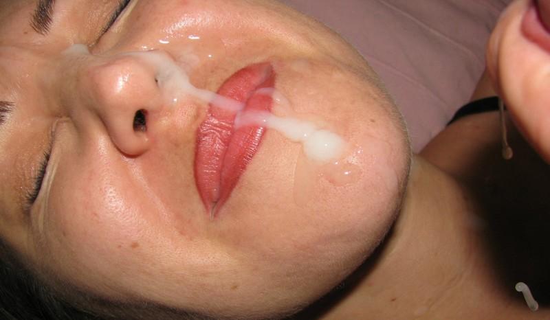 Сперма в ноздри
