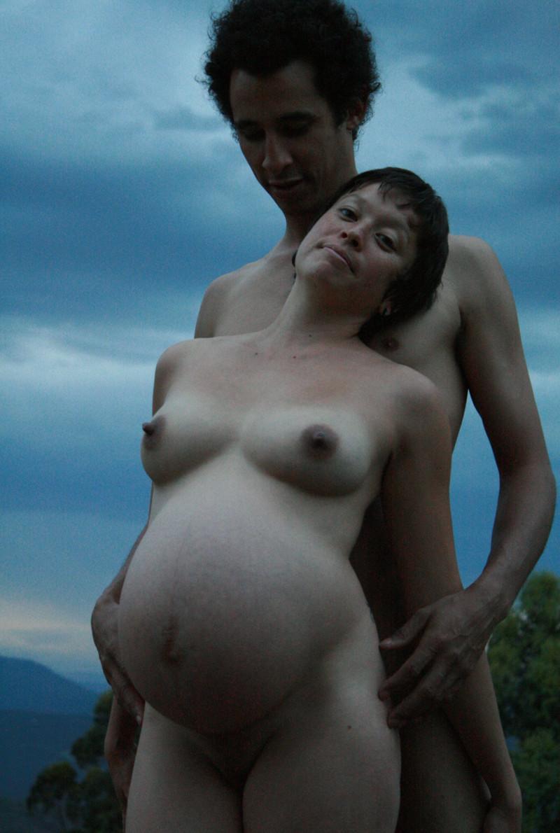 Nudist Pregnant