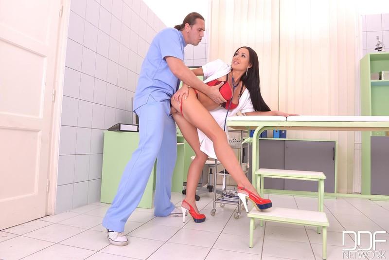 Nurse tiffany hand job