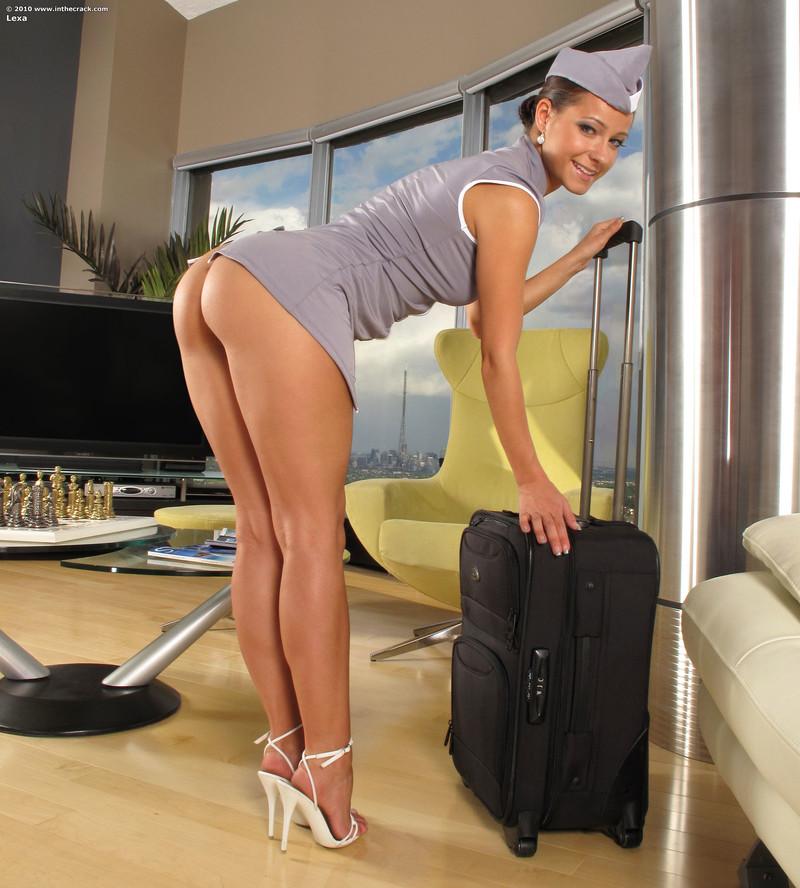 Мохнатые стюардессы в чулках фото 723-827