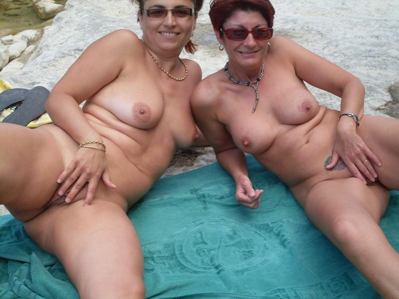 Навел зрелые свингеры на пляже