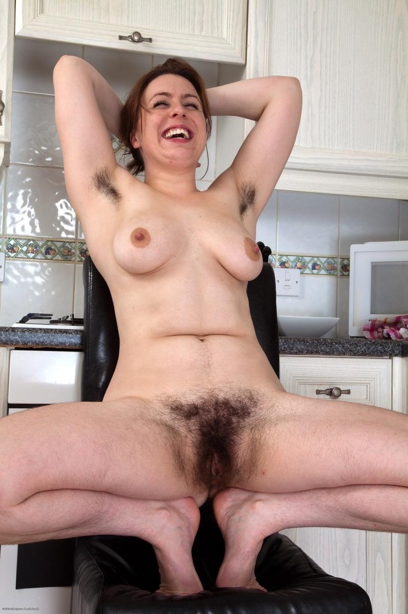 Hairy Armpit Nude