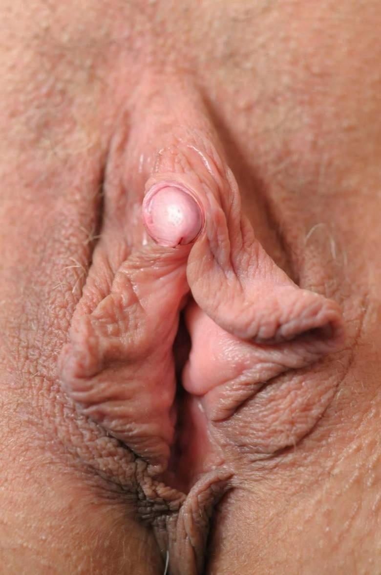 клитор пожилой женщины